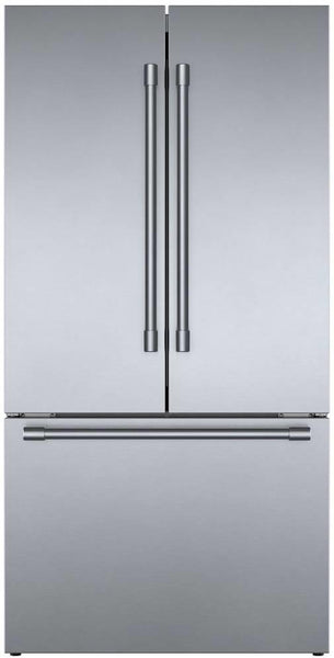 "Bosch 800 Series 36"" Smart Counter Depth French Door Refrigerator B36CT81SNS"