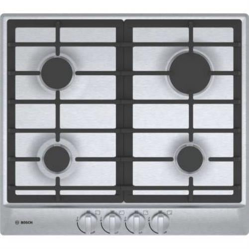 "Bosch 500 Series 24"" Automatic Electronic 4 Burner SS Gas Cooktop NGM5456UC - Alabama Appliance"