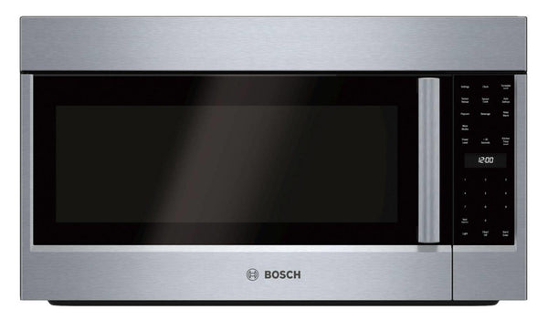 "Bosch 500 Series 30"" 1100 Watts Over-the-Range SS Microwave Oven HMV5053U - Alabama Appliance"
