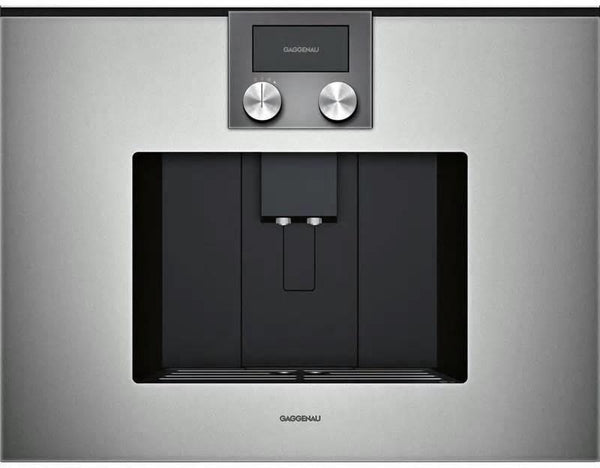 "Gaggenau 200 Series 24"" Aroma Brewing Tech Built-In Coffee Machine CMP250711 - Alabama Appliance"