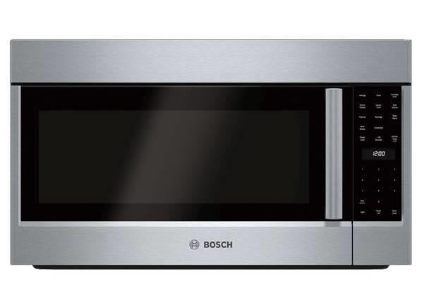 "Bosch 800 Series 30"" LED Over The Range SS Convection Microwave HMV8053U - Alabama Appliance"