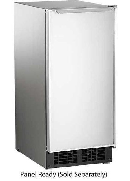 "Scotsman 15"" Panel Ready 26 lbs Ice Storage UnderCounter Ice Maker DCE33PA1SSD - Alabama Appliance"