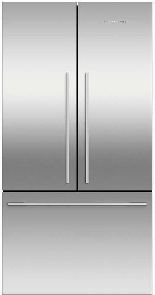 "Fisher & Paykel Active Smart RF201ADX5N 36"" Counter Depth French D. Refrigerator"