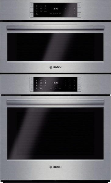"Bosch Benchmark 30"" 14 Modes Steam Convection Combination Wall Oven HSLP751UC - Alabama Appliance"