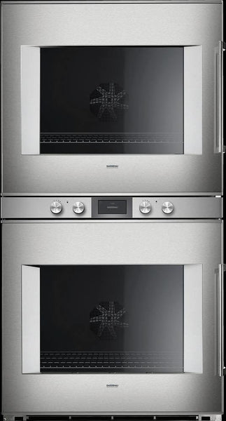 "Gaggenau 400 Series 30"" Universal Heating Electric Double Wall Oven BX481612 - Alabama Appliance"