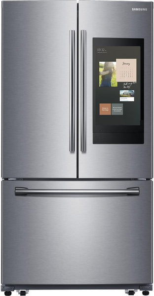 "Samsung 36"" RF262BEAESR 3-Door French Door Smart Refrigerator Family Hub - Alabama Appliance"