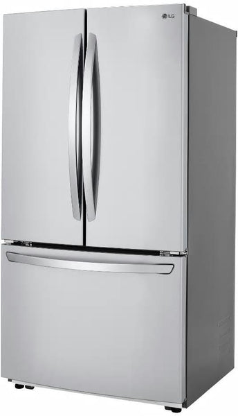 "LG LFCC22426S 36"" Counter Depth French Door Refrigerator 22.8 cuft Perfect Front"