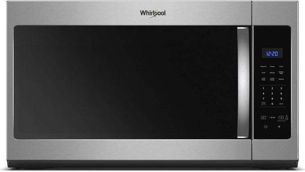 "Whirlpool 30"" 1.7 cu. ft. 300 CFM Stainless Over-the-Range Microwave WMH31017HS - Alabama Appliance"