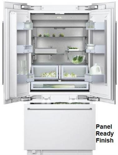 NIB Gaggenau 36 in 19.5 Multi-Flow Air System French Door Refrigerator RY492701 - Alabama Appliance