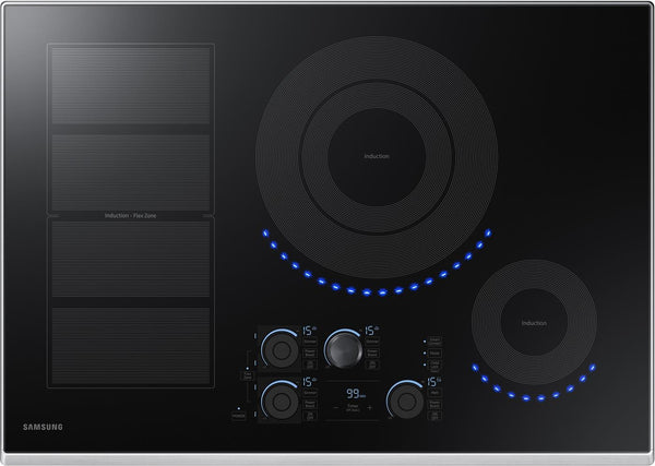 Samsung NZ30K7880US 30 Inch Induction Cooktop with Flex Zone - Alabama Appliance