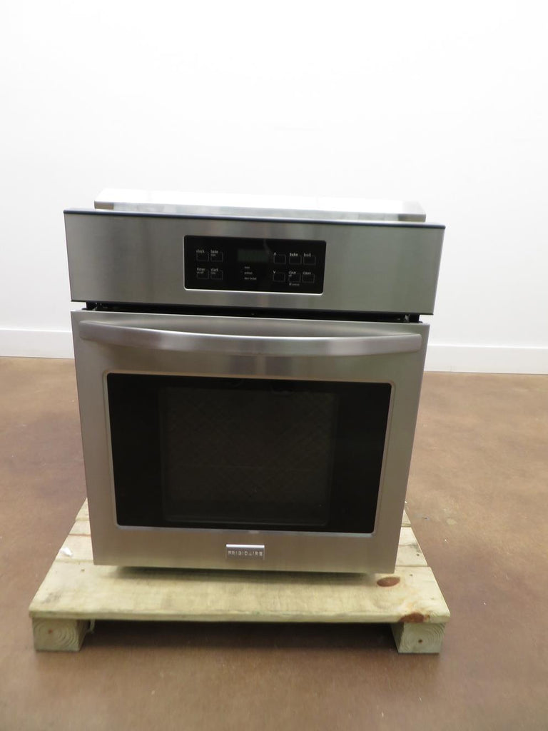 "Frigidaire FFEW2425QS 24"" Single Electric Wall Oven with 3.3 cu. ft. Capacity - Alabama Appliance"