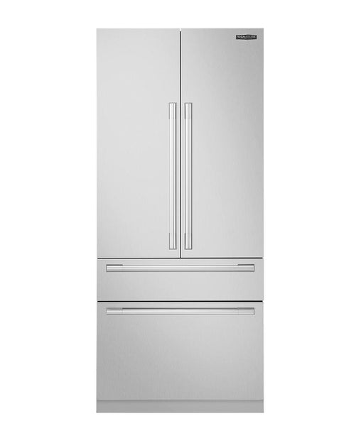 "Lg Signature Kitchen Suite 36"" Refrigerator SKSFD3604P & Accessory Kit Stainless - Alabama Appliance"