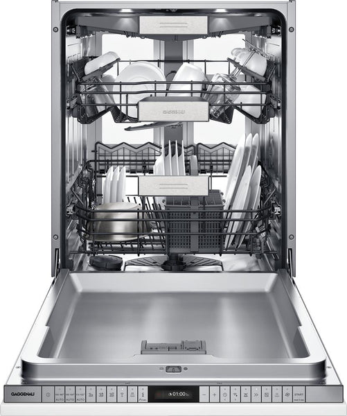 "Gaggenau 400 Series DF480763 24"" Fully Integrated Smart Dishwasher - Alabama Appliance"