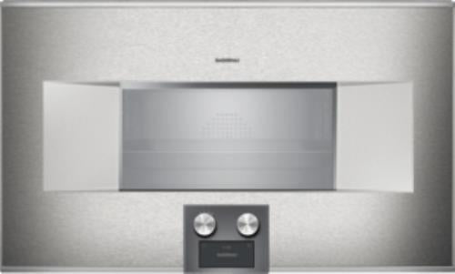 "Gaggenau 400 Series 30"" 2.1 Single Combi-Steam Smart Electric Wall Oven BS484612"