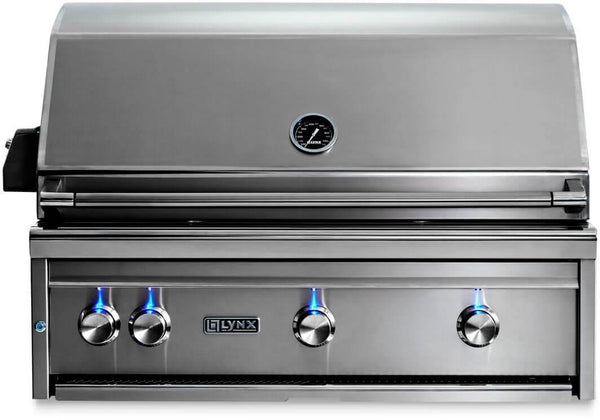 "Lynx Professional Grill Series 36"" 935 Cooking Surface Built-In Grill L36R3NG - Alabama Appliance"