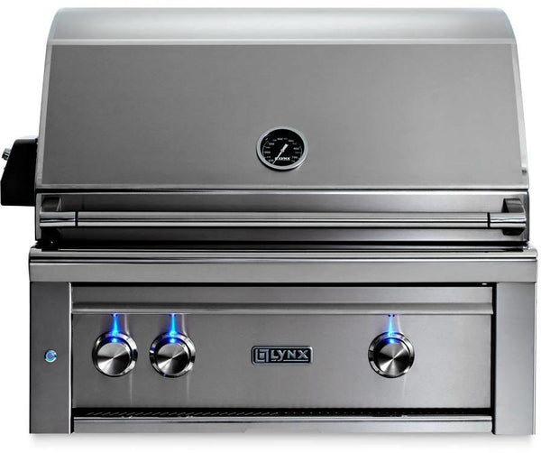 "Lynx Professional Grill Series 30"" 840 sq.in. Surface Built-In Grill L30ATRLP - Alabama Appliance"