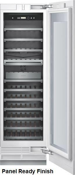 "Thermador Freedom Collection 24"" Built-in Fully Flush CP Wine Column T24IW800SP - Alabama Appliance"