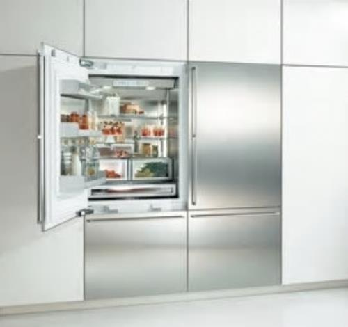 "Gaggenau 60"" Fully Integrated Custom Refrigerators: Set of 2 30 inches RB472704"
