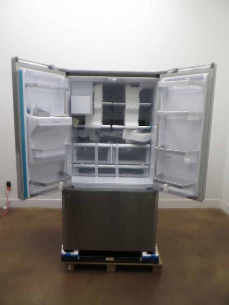 Bosch 36 Inch MultiAirFlow™ Cooling System French Door Refrigerator B26FT50SNS - Alabama Appliance