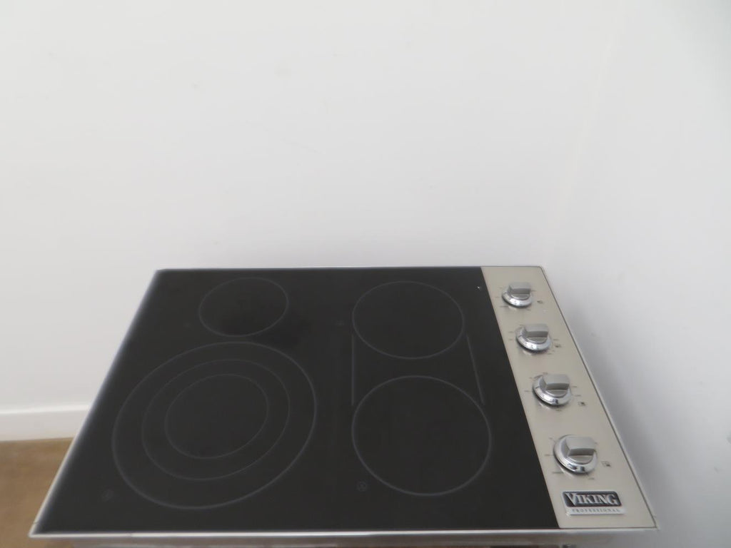 "Viking Professional Serie 30"" Smoothtop Electric Cooktop VEC5304BSB Pictures - Alabama Appliance"