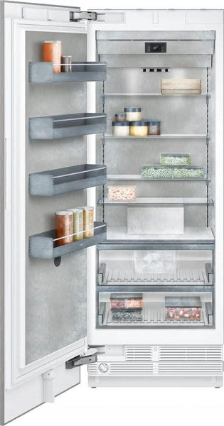 "Gaggenau 400 Series RF471704 30"" Fully Intergrated Freezer Column with Ice Maker - Alabama Appliance"