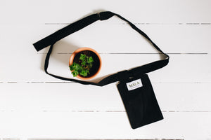 The Logia Pocket Bag - Black