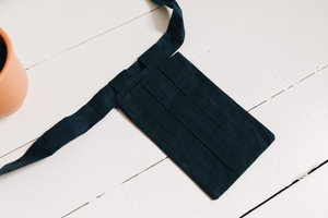 The Logia Pocket-Bag - Heath Blue