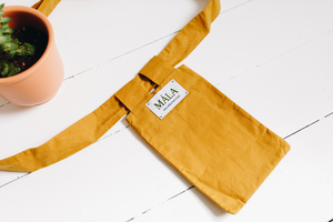 The Logia Pocket Bag - Heath Yellow