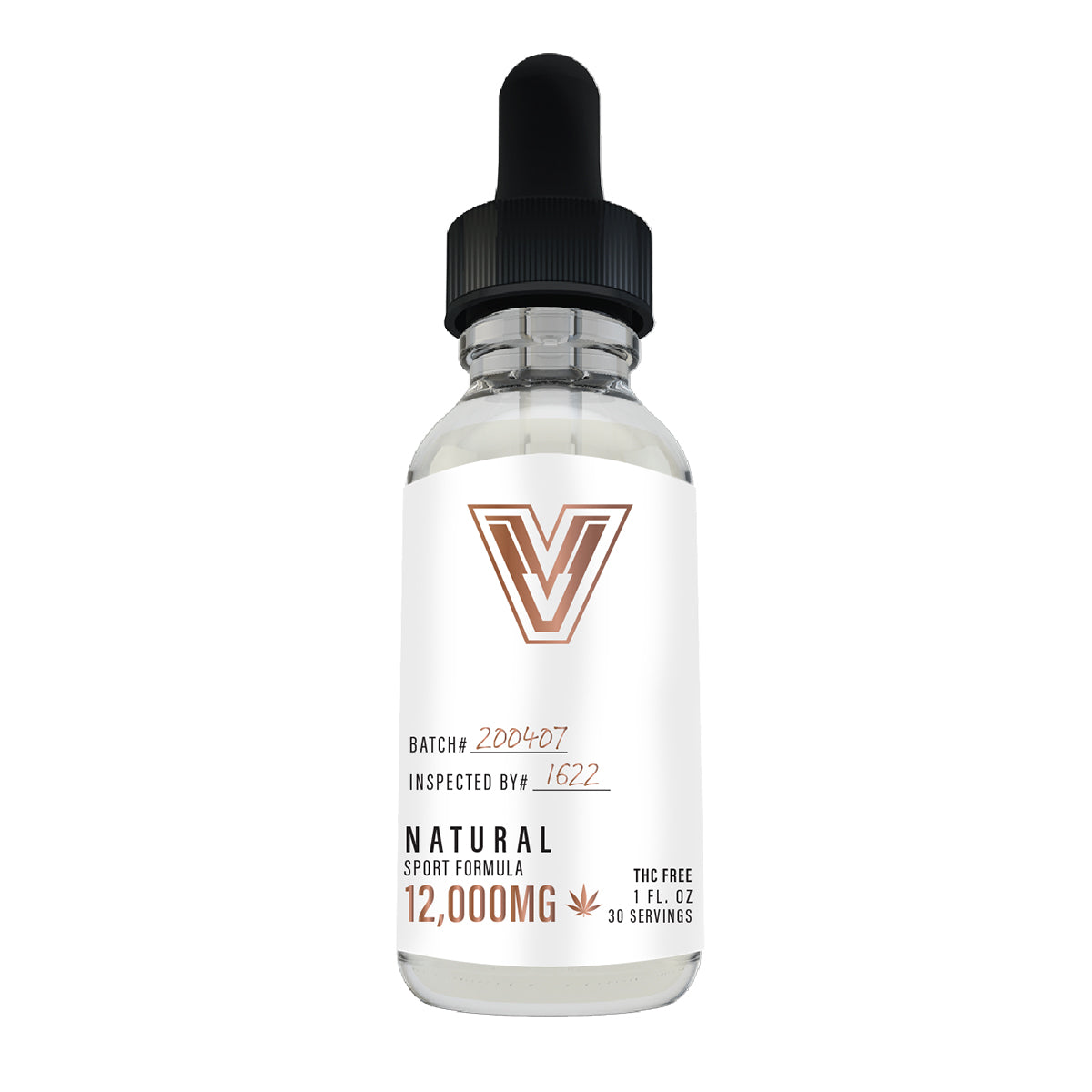 Natural Flavor Sport Ultra Strength Tincture