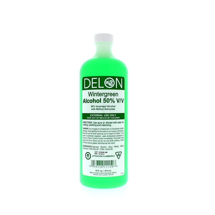 delon-alcohol50precent-wintergreen-473ml