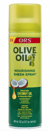 ORS Olive Oil Nourishing Sheen Spray Infused with Coconut Oil 11.7 oz
