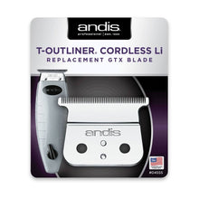 Load image into Gallery viewer, Andis Cordless T-Outliner® Li Replacement Square Blade