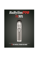 Load image into Gallery viewer, BaByliss PRO Silver FX Skeleton Cordless Trimmer (FX787S)