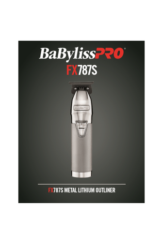 BaByliss PRO Silver FX Skeleton Cordless Trimmer (FX787S)