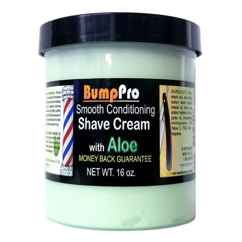 Bump Pro Smooth Conditioning Shave Cream with Aloe 16 oz