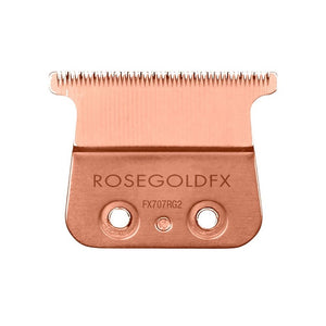 BaByliss Pro Rose Gold Titanium 2.0 mm Deep Tooth Replacement T-Blade Fits All FX787 Models #FX707RG2
