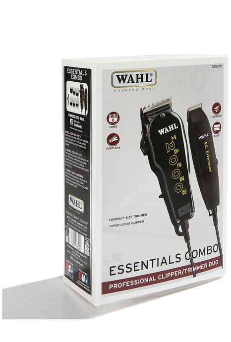 Wahl Essentials Clipper and Trimmer Combo 8329