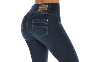 NEBRASKA ab control high rise tight stretch jeans
