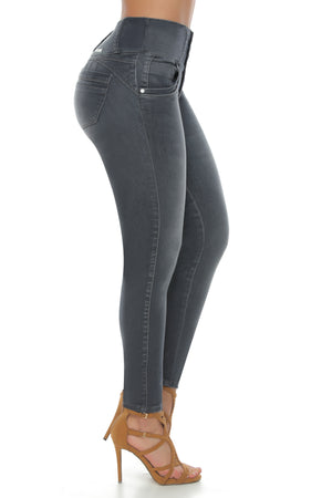 PENNSYLVANIA ab control high rise push up jeans