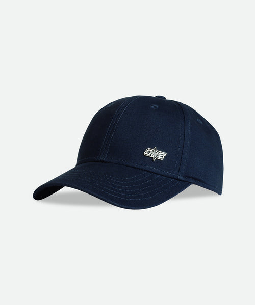 ONE Metal Logo Cap - Navy/Silver - ONE.SHOP | The Official Online Shop of ONE Championship