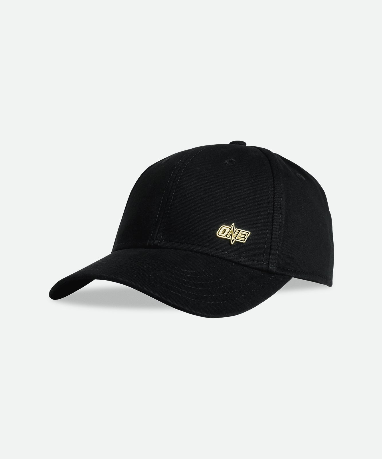 ONE Metal Logo Cap - Black/Gold - ONE.SHOP | The Official Online Shop of ONE Championship