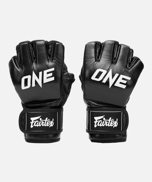 ONE x Fairtex MMA Gloves (Black) - ONE.SHOP | The Official Online Shop of ONE Championship
