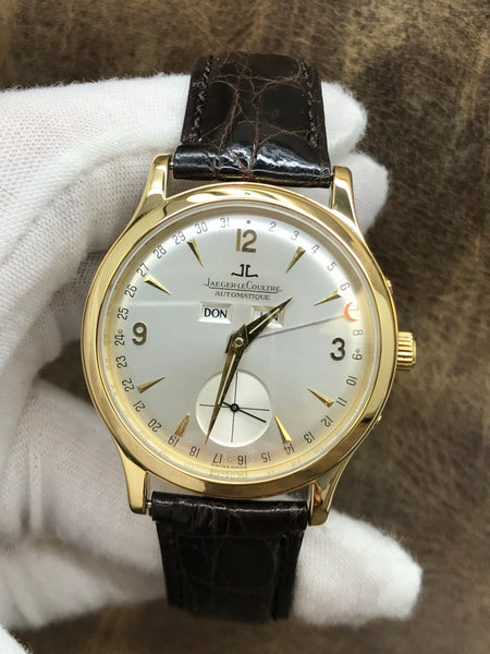 Jaeger-Lecoultre Master Date 140.1.87 Silver Dial Automatic Men's Watch