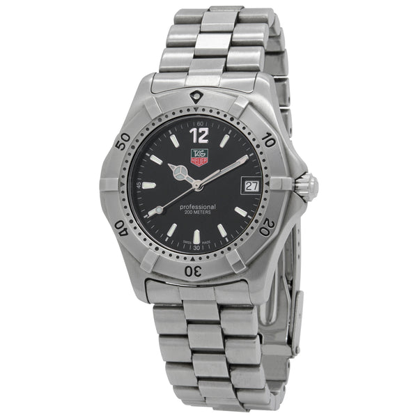 TAG Heuer Series 2000 Black Dial Quartz Watch WK1110-0