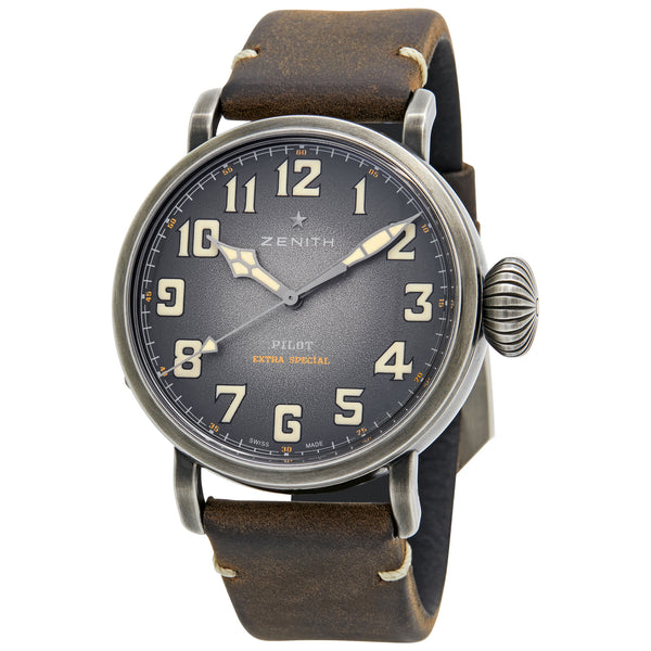 Zenith Pilot Type 20 Ton-up Bronze Dial Automatic Men's Watch 11.2430.679/21.C801