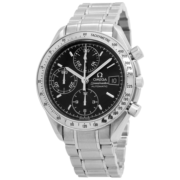 Omega Speedmaster Date 3513.50.00 Black Dial Automatic Men's Watch