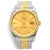Rolex Datejust Champagne Dial Automatic Watch 16233