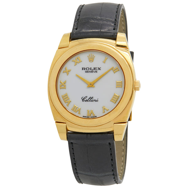 Rolex Cellini White Dial Manual winding Men's Watch 5330