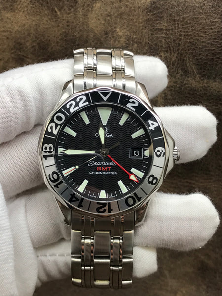 Omega Seamaster 300m 2234.50.00 Black Dial Automatic Men's Watch