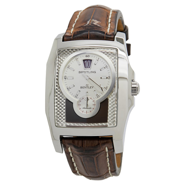 Breitling Bentley Silver Dial Automatic Men's Watch A28362